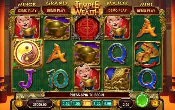 Temple of Wealth van Play'n GO spelen met 243 winmanieren!